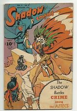 Golden Age Shadow Comics Vol. 6 #6 - good/very good 3.0 - Nick Carter and MORE