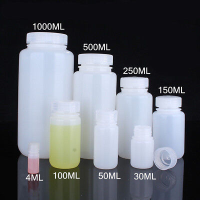 Clear Empty Plastic Sealed Jars Bottles High Temperature Storage Jars 4mL-1000mL