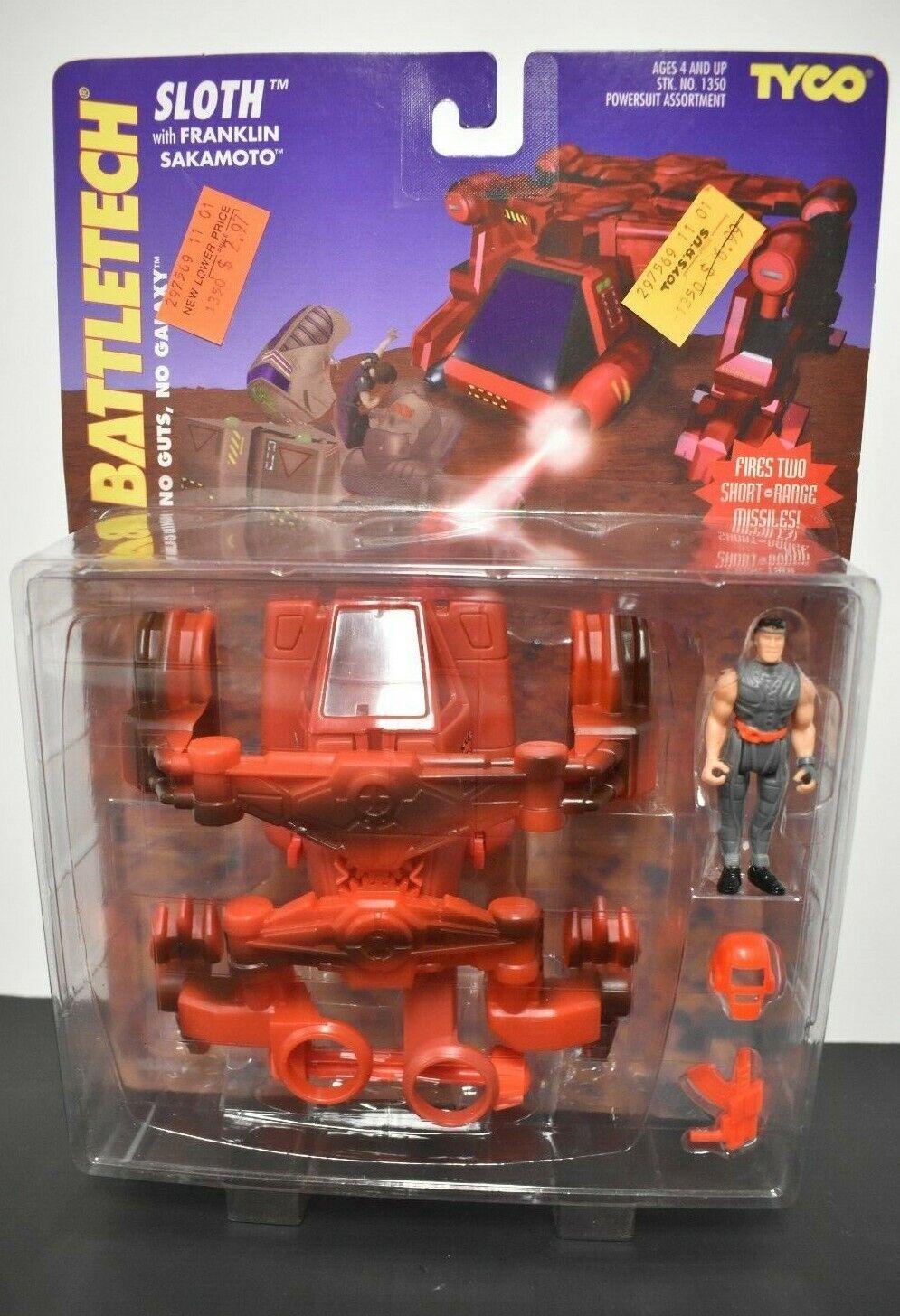 Battletech la pereza con Franklin Sakamoto Figura de acción sellado de 1350  1994 Tyco