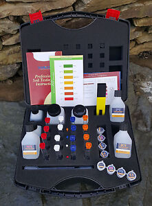 Details about Professional Soil Testing Kit with pH Meter  N P K tests  farmers & growers