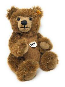 Steiff-Teddy-Grizzly-Baer-TED-braun-ca-28cm-Nr-010644-neuwertig-unbespielt