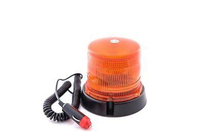 Orange Gyrophare balise LED avec base magn/étique pour v/éhicules 12V