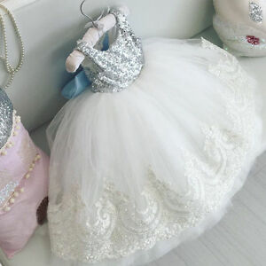 Image Is Loading Infant Baby Birthday Wedding Pageant Party Princess