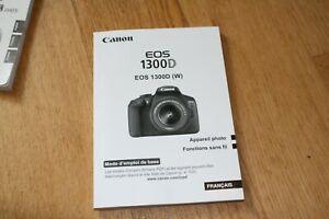 Mode-Demveronique-original-Canon-EOS-1300D-Manuelle-mode-d-039-emploi-francais