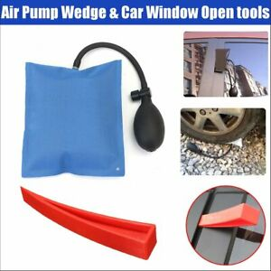 Auto Car Air Pump Wedge Inflatable Home Car Door Window Shim Entry Open Tool Kit