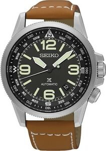 Seiko SRPA75 SRPA75K1 Prospex Mens Automatic Leather Band Watch RRP $750.00