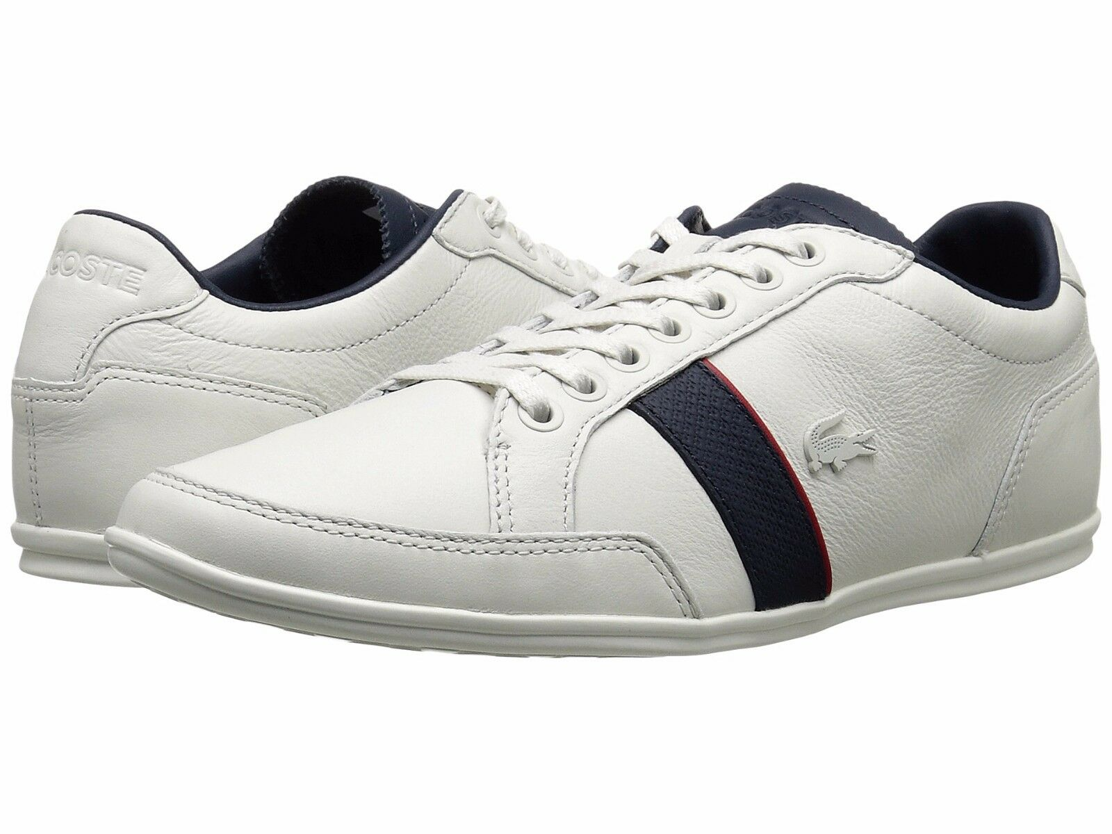 New Lacoste Men Alisos 116 Weiß Weiß Weiß Leather Lace up casual Fashion schuhe Turnschuhe 719e8b