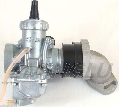 Carburetor W// Intake Boot Kit Kawasaki KLX110 Suzuki DRZ110 Big Bore Carb VM24