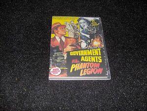 GOVERNMENT AGENTS VS. PHANTOM LEGION CLIFFHANGER SERIAL