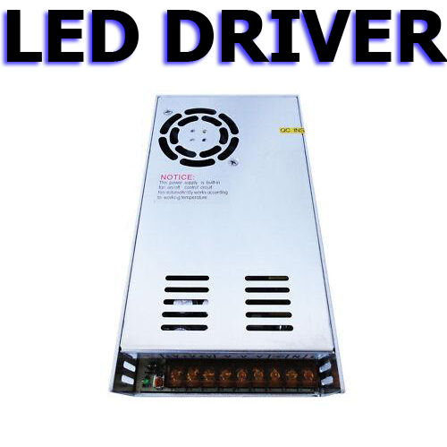 350W 10A 36V Power Supply Regulated Driver Adapter for LED Strip