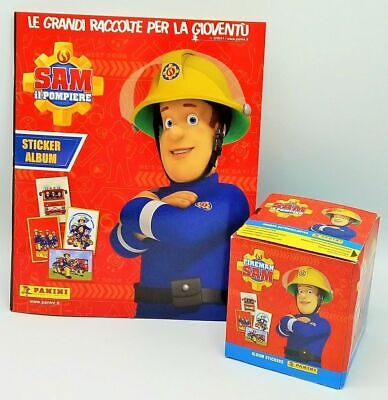 Sam il Pompiere Panini Box 50 Bustine Figurine