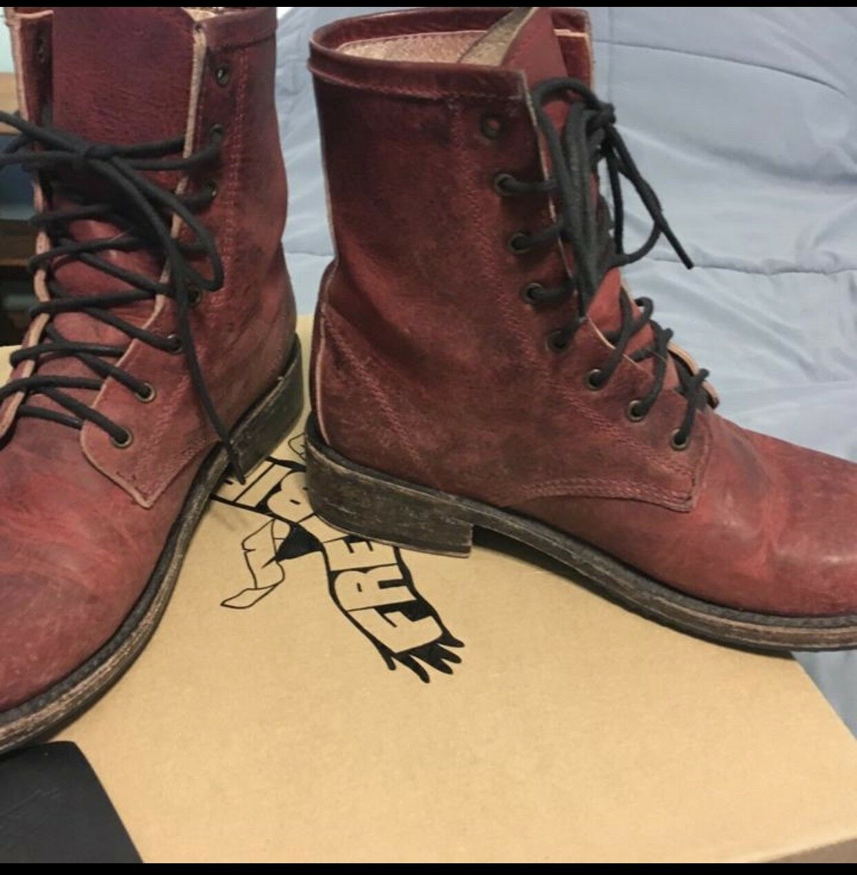 FREEBIRD BY Stiefel STEVEN CHARLIE DISTRESS COMBAT Stiefel BY 2e61bb