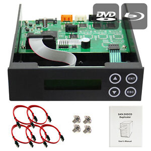 1-2-3-Blu-ray-CD-DVD-BD-SATA-Duplicator-Copier-CONTROLLER-Cables-Screws-amp-Manual