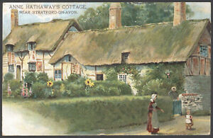 Stratford-upon-Avon-Anne-Hathaway-039-s-Cottage-Posted-Chapeltown-Rd-Leeds-1905