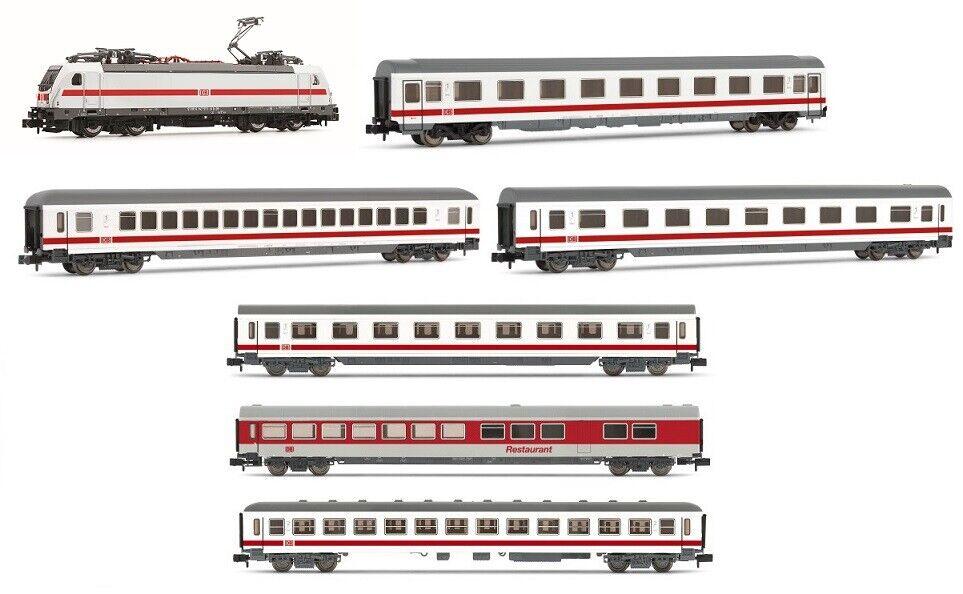 Arnold 1011 pista-n-tren-set 7 piezas e-Lok 147 con 6 viajeros DB-AG ep5-6