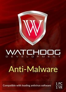 Watchdog Anti Malware - 1 Year / 1 PC  Spyware Hijacker Removal Key by email ESD