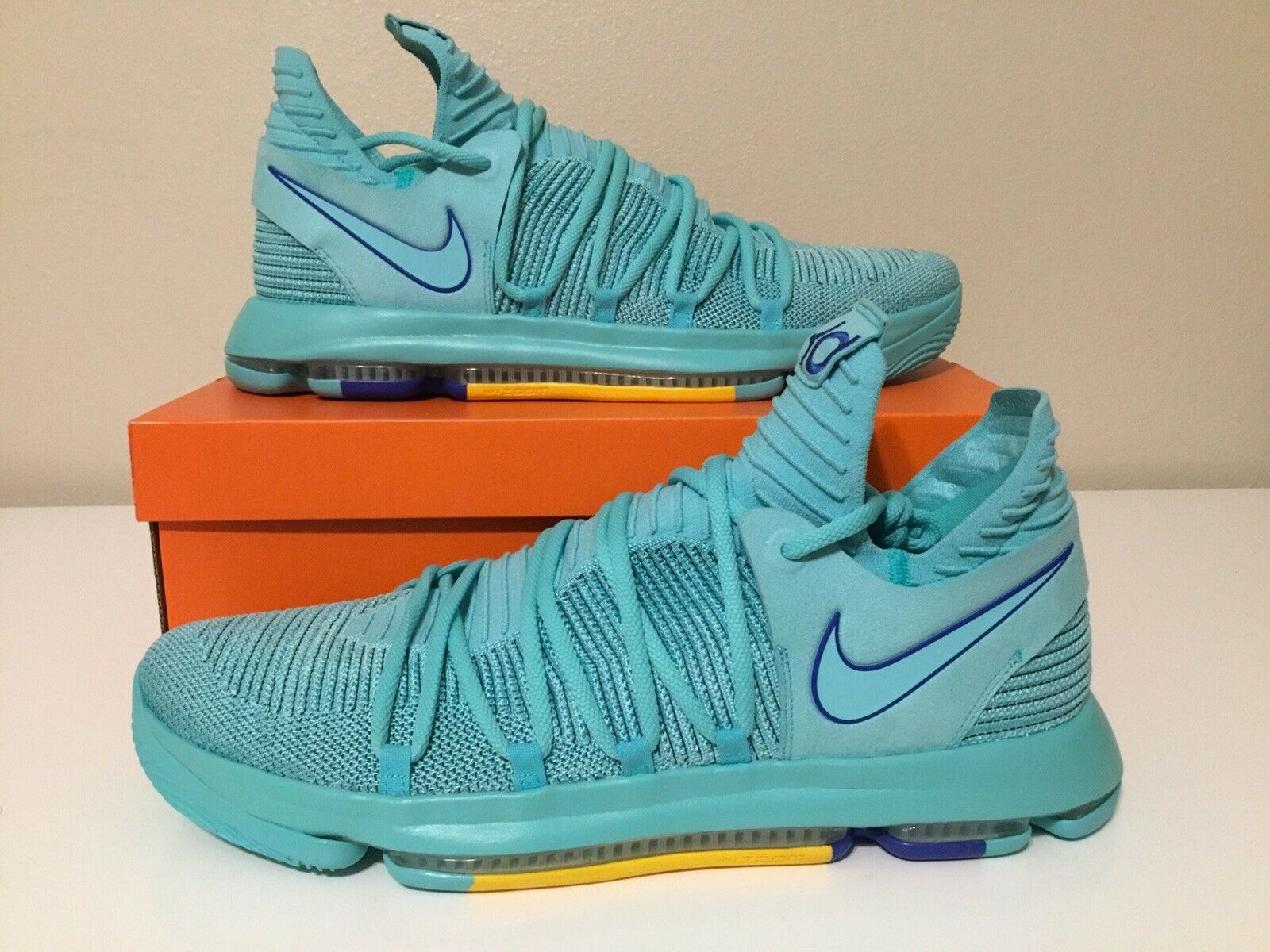 Nike Zoom KD 10 HYPER Turquoise Durant