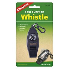 Thermometer 2 Pack Of Coghlan's 0044 Four Function Whistle Compass Magnifier