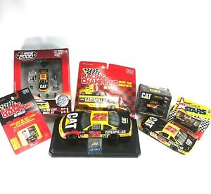 Lot-of-7-Racing-Champions-Cat-Caterpillar-Die-Cast-Collectible-Nascar-1995-2000