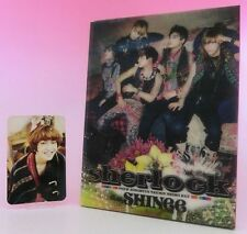 CD+DVD SHINee sherlock JAPAN Limited Edition with Photo card Onew
