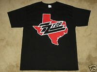 Zz Top Texas Event S, M, L, Xl, 2xl Black T-shirt