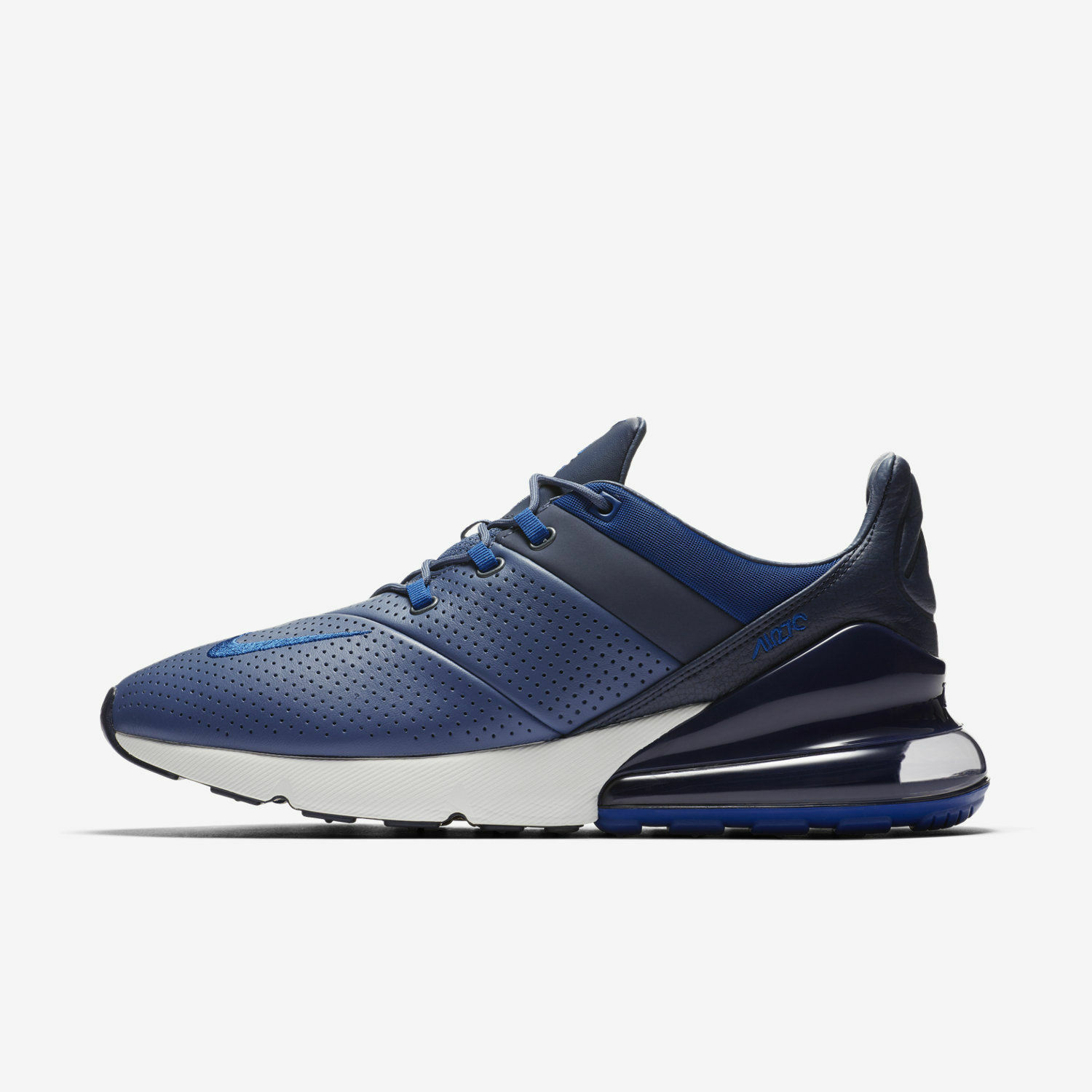 NIKE AIR MAX 270 PREMIUM MEN'S SHOES DIFFUSED blueE GYM blueE AO8283 400