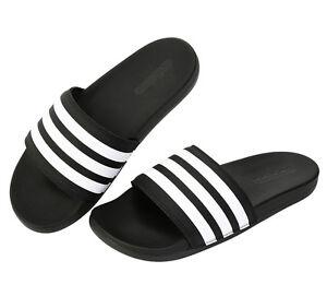 62f1f5db9 Adidas Adilette CF+ AQ4935 Slides Black Sports Sandal Slippers Flip ...