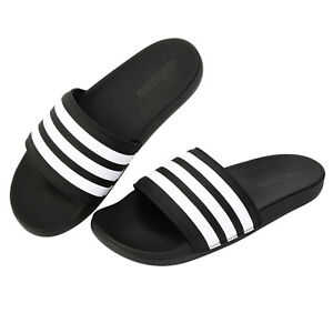 742b6502556e Adidas Adilette CF+ AQ4935 Slides Black Sports Sandal Slippers Flip ...