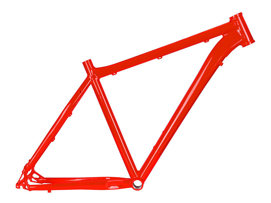 Cuadro MTB de aluminio 26  rouge Taille 19,5