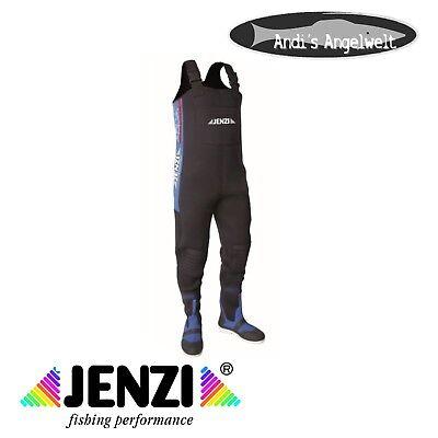 Jenzi Wathose Bauchgr/ö/ße Nylon PVC