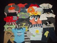 Baby Boys Newborn 0-3M 3M Summer Outfits Clothes Lot NB 0 3 Month 0-3 Mo 0/3 Mos