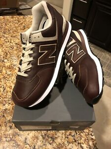 NEW BALANCE 574 CLASSIC LEATHER SHOES