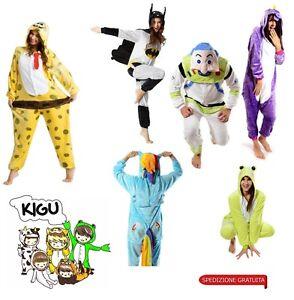 KIGU-vestito-carnevale-Halloween-costume-travestimento-unisex-ONESIE-kigurumi