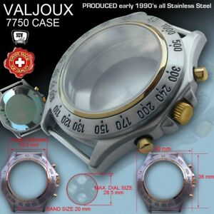 WATCH-CASE-TACHYMETER-BICOLOR-MOVEMENT-ETA-VALJOUX-7750-ST-STEEL-VINTAGE-90-039
