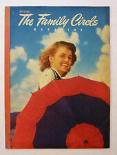 COMPLETE JULY 6 1945 FAMILY CIRCLE MAGAZINE w/ N ROCKWELL - ALONG CAME JONES -AD