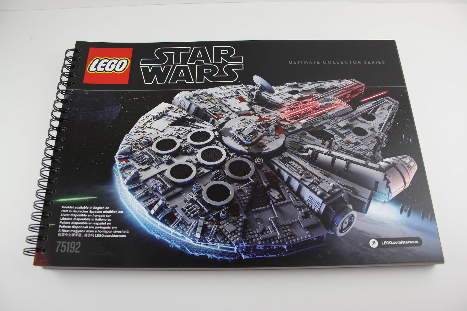 LEGO ® recipe 75192 STAR WARS MILLENIUM FALCON only building instructions