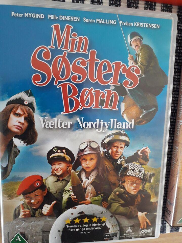 Min søsters børn., DVD, familiefilm