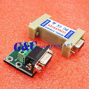 Details about RS232 to RS485 1 2KM Data Interface Adapter Converter 9 Pin  M104