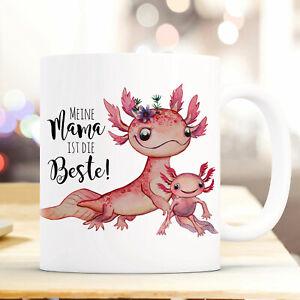 Ernährung Diplomatisch Tasse Becher Axolotl Spruch Mama Ist Die Beste Kaffeetasse Geschenk Ts953 üBerlegene Leistung