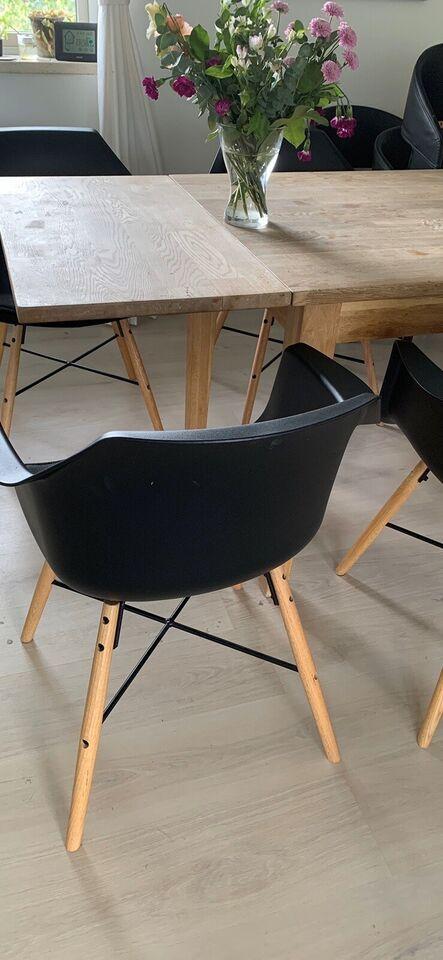 Spisebordsstol, Træ og plast, Jysk – dba.dk – Køb og Salg af