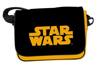 Star Wars Orange Classic Logo Mailbag With Flap - Borsa Tracolla Sd Toys