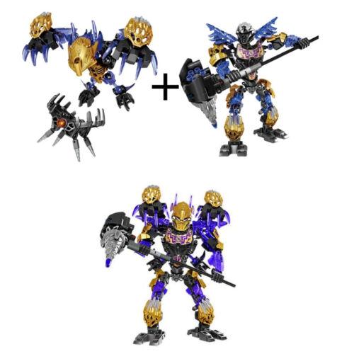 Onua+Terak Bionicle Uniter Of Earth Figures Building Brick Block Toy Mask 217PCS