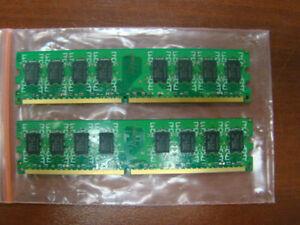 Brand-4GB-2X2GB-DDR2-2RX8-PC2-5300U-800MHz-240PIN-DIMM-Intel-RAM-Desktop-memory