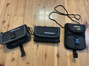Nintendo-Gameboy-Color-amp-Advance-Official-Carrying-Cases-Mint-Condition-RARE