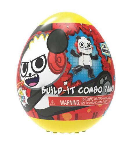 Ryans World Build It Combo Panda 130 Bricks NEW