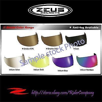 ZEUS Helmet Accessories ZS Original Optional 3000B Visor 3000 3000A Replacement aIOxwpa