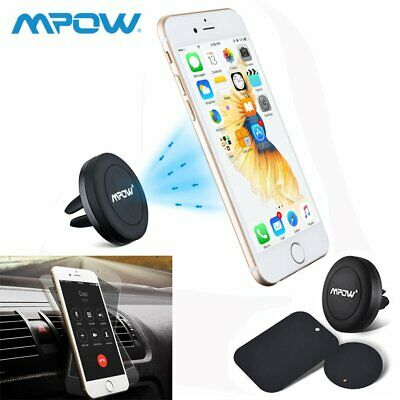 ef531011a Details about Mpow Magnetic Gear Car Phone Holder Dashboard 360 Rotation  With Mounting Plate