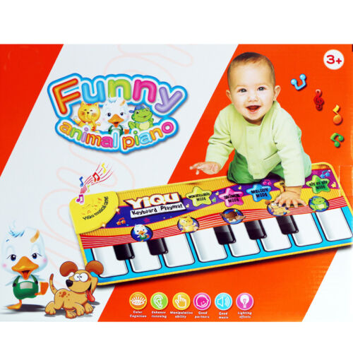 Baby Kids Touch Play Learn Singing Piano Keyboard Music Carpet  Mat Blanket Toy
