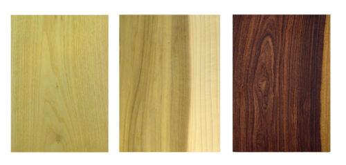 Holzplatte Furnier Set 17 Holzarten Eiche Nussbaum Buche Tisch Zuschnitt massiv