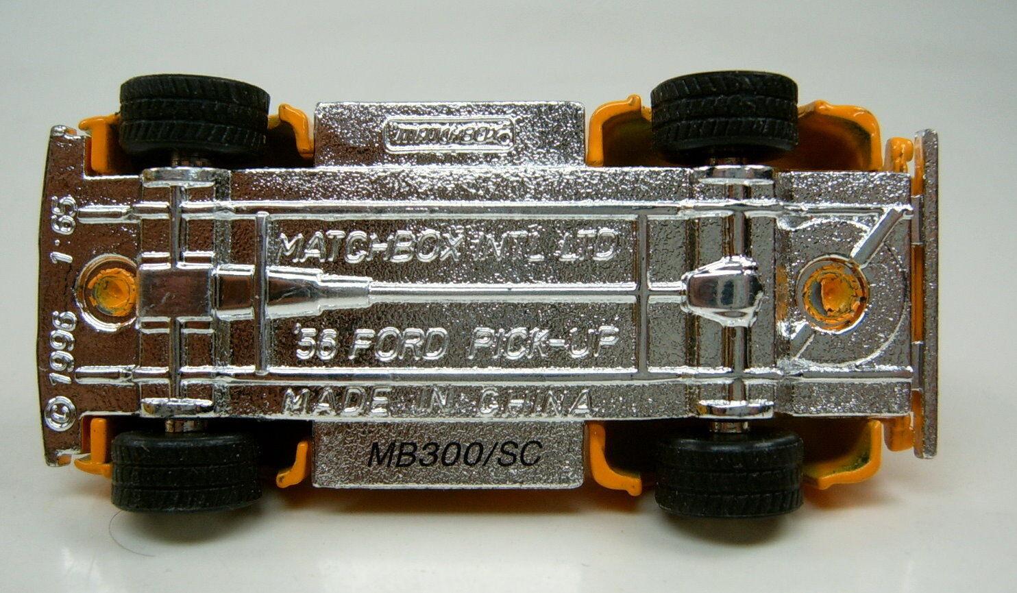 Matchbox  primicia    serie 1956 ford pick-up  mbrr  colección 6a4870